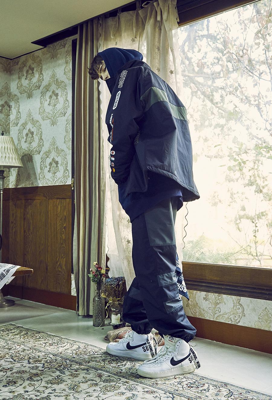 비에스래빗(BSRABBIT) COMPETITIVE JACKET BLACK